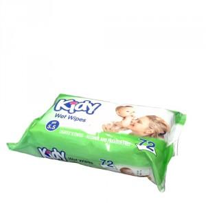 Kidy Wet Wipes 72 pcs